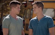 Can Ethan and Aiden not wear V-necks on the same day? My heart literally can't take it.