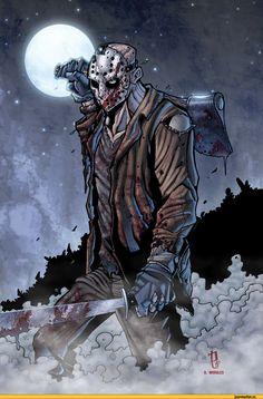 Jason Voorhees - D.Morales art