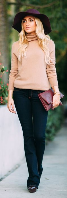 Flared Jeans Fall Inspo by Angel Food Style