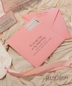 Jar of Ideas: Light Pink + Cream Floral Wedding