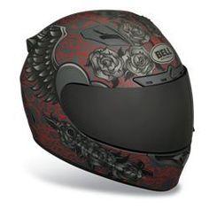 Women's Bell Sports Full Face Motorcycle Helmet - Vortex Archangel