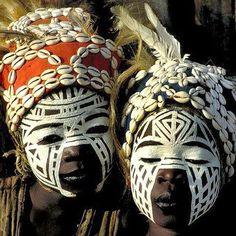Tribes of the Ivory Coast | #headdress #mask