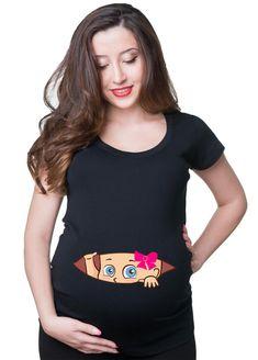 Halloween Skeleton X-ray baby Girl maternity pregnancy shirt Top Paternity Shirt