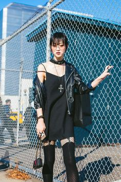 The Polyvore Collection — koreanmodel:   Street style: Choi Sora at NYFW...