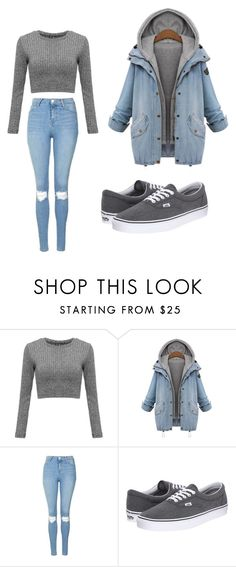 """Untitled #60"" by blackishappycolour ❤ liked on Polyvore featuring Topshop and Vans"