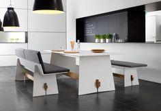 Kolekcja Tension - nowoczesne meble wykonane z bardzo wytrzymałego materiału hpl
