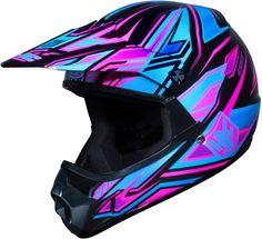 HJC CL-XY Fulcrum Girls Motocross ATV MX Dirt Bike Helmets