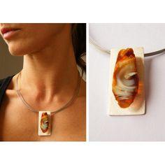 Milky Honey  amber pendant Pendant AMBER unique silver Pendant Baltic Amber