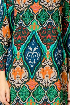 Batik Shift Dress