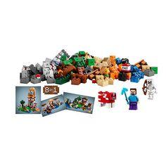 """LEGO Minecraft Crafting Box (21116) - LEGO - Toys """"R"""" Us"""