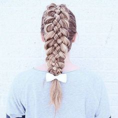 If you are trying to find hairstyles that may make you comfortable when you Sporty Hairstyles, Messy Hairstyles, Hairdos, Volleyball Hairstyles, Hairstyles Videos, Five Strand Braids, Sport Hair, Hair Arrange, Voluminous Hair