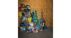 """Look familiar?  Closet Say bye to the days of """"I know it's in here somewhere."""" Because less mess in your gear closet means more hiking. - See more at: http://www.backpacker.com/skills/upgrade-your-gear-closet/#bp=0/img1"""