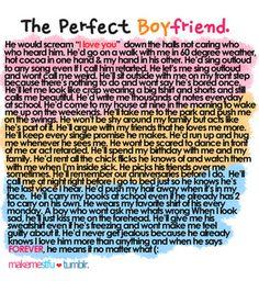perfect boyfriend.