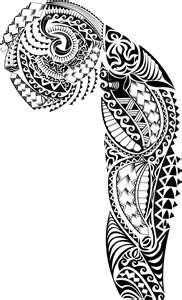 Full Tribal Sleeve / Free Tattoo Designs