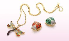 CUTE CRITTERS ~ Fun Fashion Jewellery from BELLE BELLA in London. Martine xx