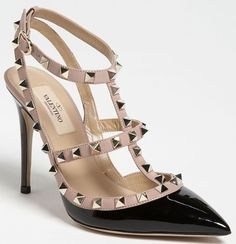 Those are obviously a pair of Valentino pumps from the Rockstud line. Description from yournextshoes.com. I searched for this on bing.com/images