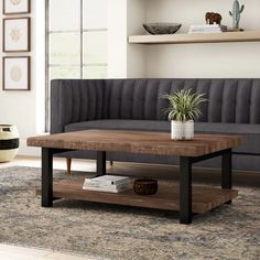 New Thornhill Coffee Table Storage Trent Austin Design online shopping - Topofferclothing Cool Coffee Tables, Coffe Table, Decorating Coffee Tables, Coffee Table With Storage, Coffee Table Design, Table Storage, Metal Wood Coffee Table, Simple Coffee Table, Table Tray