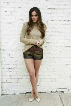 Gorgeously pretty. Chloe Bennet. I love her smashing legs...wow!.they are so hot. Sal P