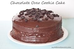 Sweet Treats and More: 10 things in 10 Years & Chocolate Oreo Cookie Cake