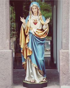 , during the Novena preached in the Church of Our Lady of Lourdes in preparation for th. Mother Mary Images, Images Of Mary, Blessed Mother Mary, Blessed Virgin Mary, Image Jesus, Jesus E Maria, Virgin Mary Statue, Lady Of Lourdes, Immaculate Conception