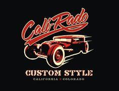 Cali-Rado by Jeff Stone, via Behance