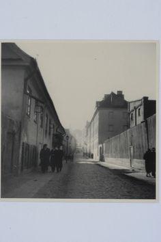 Ulica Boleść w Warszawie, 1935, ze zbiorów Biblioteki Narodowej