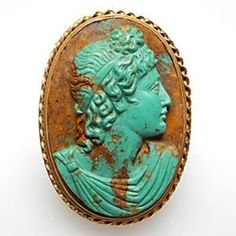 Carved Apollo cameo ring