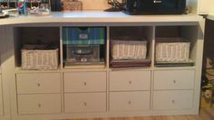 storage under desk   Ikea Expedit Shelving Unit   http://www.ikea.com/gb/en/catalog/products/50103086/#/70103085  Expedit Insert with 2 drawers  http://www.ikea.com/gb/en/catalog/products/60198215/#/90204936