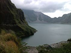 Mount Pinatubo in The Philippines