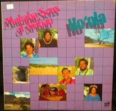 Hawaiian record. Hoola by The Makaha Sons of Niihau. -Honolulu, Hawaii, Poki Records SP 9043, stereo, p1986.