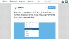 Ora puoi embeddare i video di Twitter Il social network aggiunge una funzione al proprio servizio nativo: ora le clip sono incorporabili altrove #twittertips #video