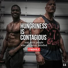Hungriness Is Contagious Stay with people who are never satisfied. Dwayne The Rock Johnson http://www.gymaholic.co/fitness/dwayne-the-rock-johnson-workout-diet-hercules #fit #fitness #fitblr #fitspo #motivation #gym #gymaholic #workouts #nutrition #supplements #muscles #healthy