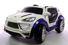 RIDE ON TOY CAR Power Wheel Porsche Cayenne Style 12v battery, two 12v motors.Remote control.2016 MODEL