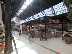 Food hall in train station - Review of Oestbanehallen, Oslo, Norway - TripAdvisor
