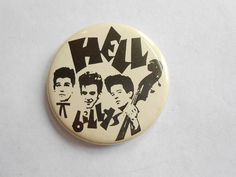 Image result for rockabilly vintage pins badges