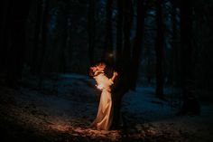 #sparkle #couple #night #forest #ktofoto