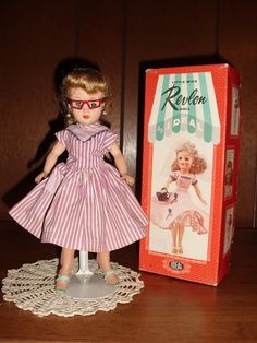 Little Miss Revlon Doll with Box, All Original