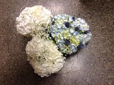 Elegant hydrangea flower bouquets. Bridesmaid Bouquet, Wedding Bouquets, Wedding Flowers, Hydrangea Flower, Flower Bouquets, Wedding Flower Packages, Groomsmen Boutonniere, Flower Packaging, Flower Making