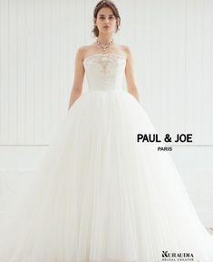 bab6dd50df1e4 *PAUL JOE * PJ-0011 ふんわり広がるプリンセスラインのチュールドレス💓 ニュアンスカラー