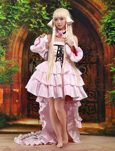 Lovely Chii Chic Chobits Cosplay Costume - Milanoo.com