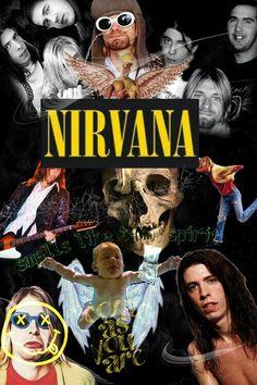 plano de fundo Nirvana Nirvana Art, Nirvana Logo, Kurt Cobain Art, Nirvana Kurt Cobain, Rock Band Logos, Rock Bands, Slipknot, Lookscreen Iphone, Dave Grohl