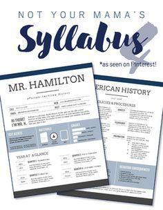 This custom infographic syllabus takes a nontraditional spin on the boring syllabus document w. High School Syllabus, High School Classroom, Middle School Teachers, English Classroom, Beginning Of School, Science Classroom, Music Classroom, Future Classroom, History Teachers