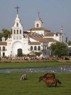Aldea de El #Rocio. #Huelva.  #deRutaporHuelva