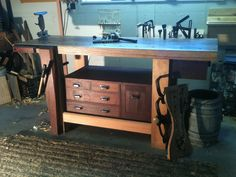 Ruobo workbench | Roubo Bench - by Smitty_Cabinetshop @ LumberJocks.com ~ woodworking ...