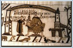 Coronation of William the Conqueror as king of England, on 25 December 1066. The ceremony was held at Westminster church, the original church on the site of what is now Westminster Abbey.