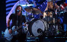 Foo Fighters em São Paulo (jan/2015) - http://glo.bo/1Rl4719 #music #foofighters #davegrohl (foto: Fábio Tito/G1)
