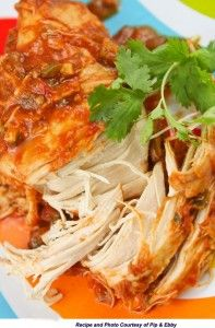 Weight Loss Recipe: Cilantro Lime Chicken, Slow Cooker Style | BeLiteweight | Weight Loss Recipes