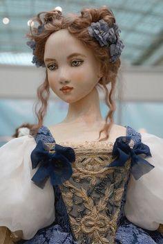 """Международная выставка кукол """"Art of Doll"""" в Гостином дворе. 12.12.2015. Автор: Галина Захарова. Кукла: Деревянная Софи. Кукла сделана из дерева"""