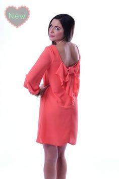 be71f7170 Because You Bow Better Apricot Lane Boutique, Amanda Jones, Coral Dress,  Dress Fashion