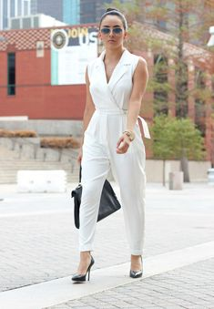 Cute Jumpsuit, would be awesome in a bright red or blue